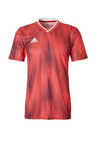 performance Senior  sport T-shirt Tiro rood