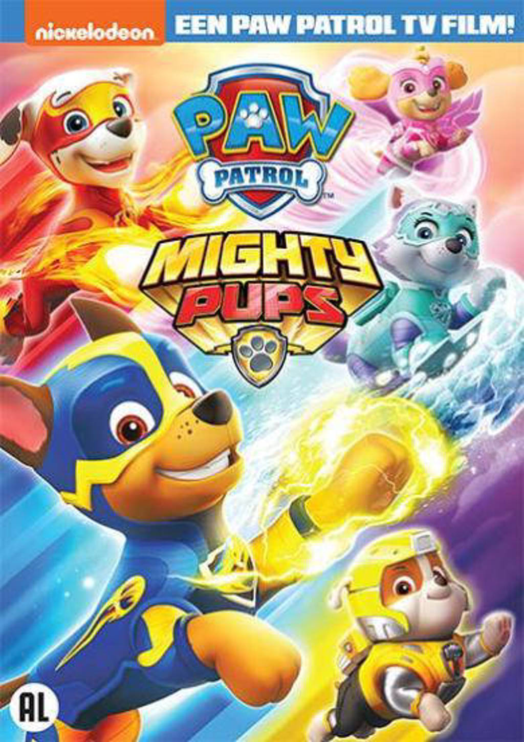 Paw patrol - Mighty pups (DVD)