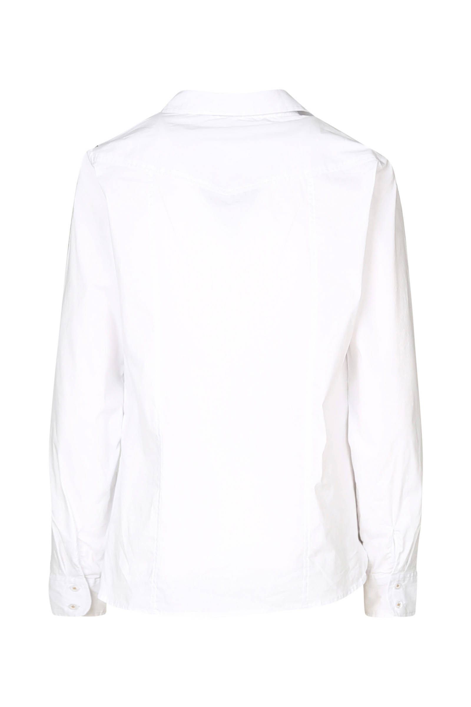 Cassis details panterprint blouse blouse met Cassis X04wUFqr0x