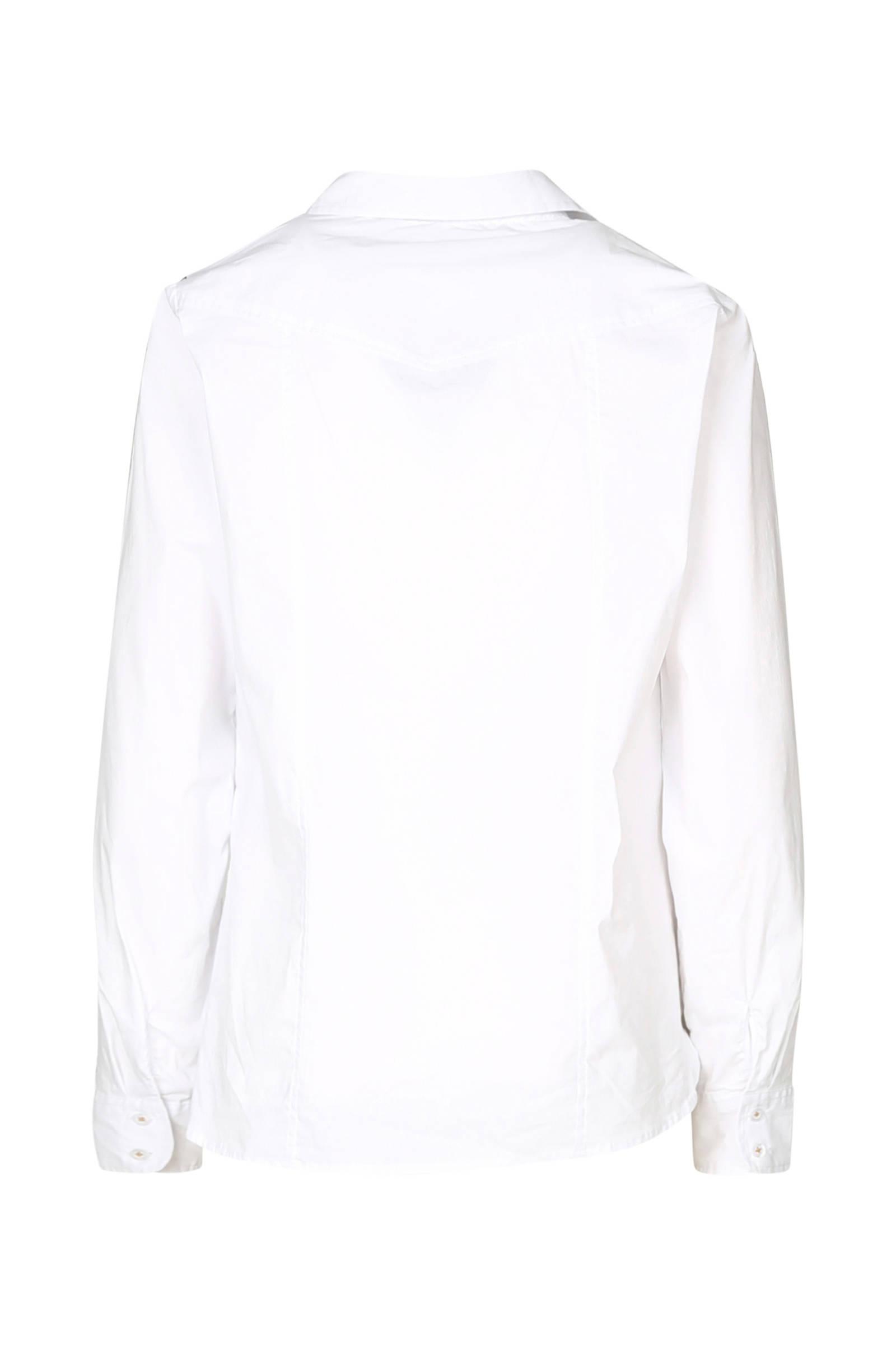 blouse Cassis blouse panterprint met Cassis details met w1vq7wgx6