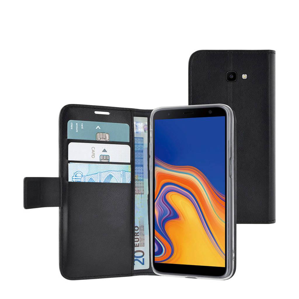 Azuri Galaxy J4+ wallet cover, Zwart