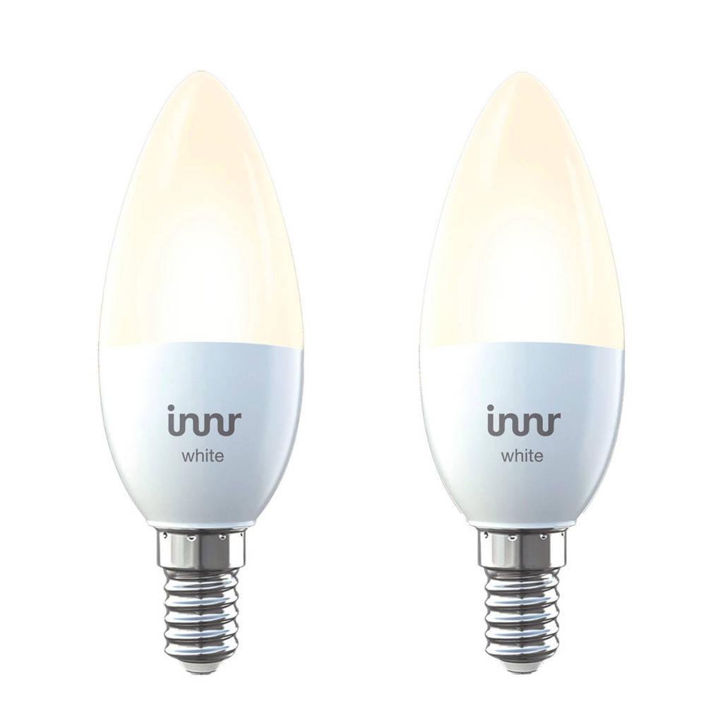 innr smart led lamp 2-pack, Wit