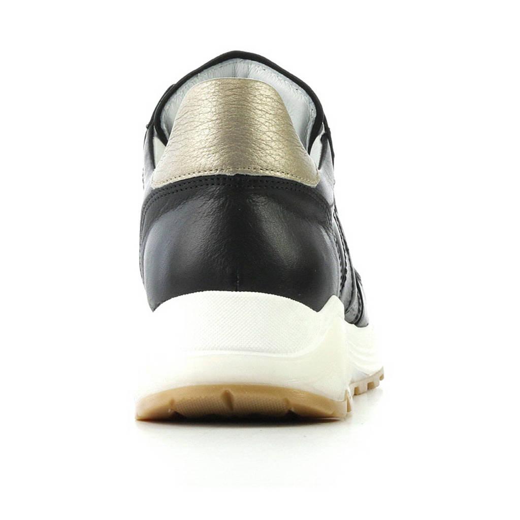 Leren Via Via Vai Zwart Vai Sneakers gtx8PqPw