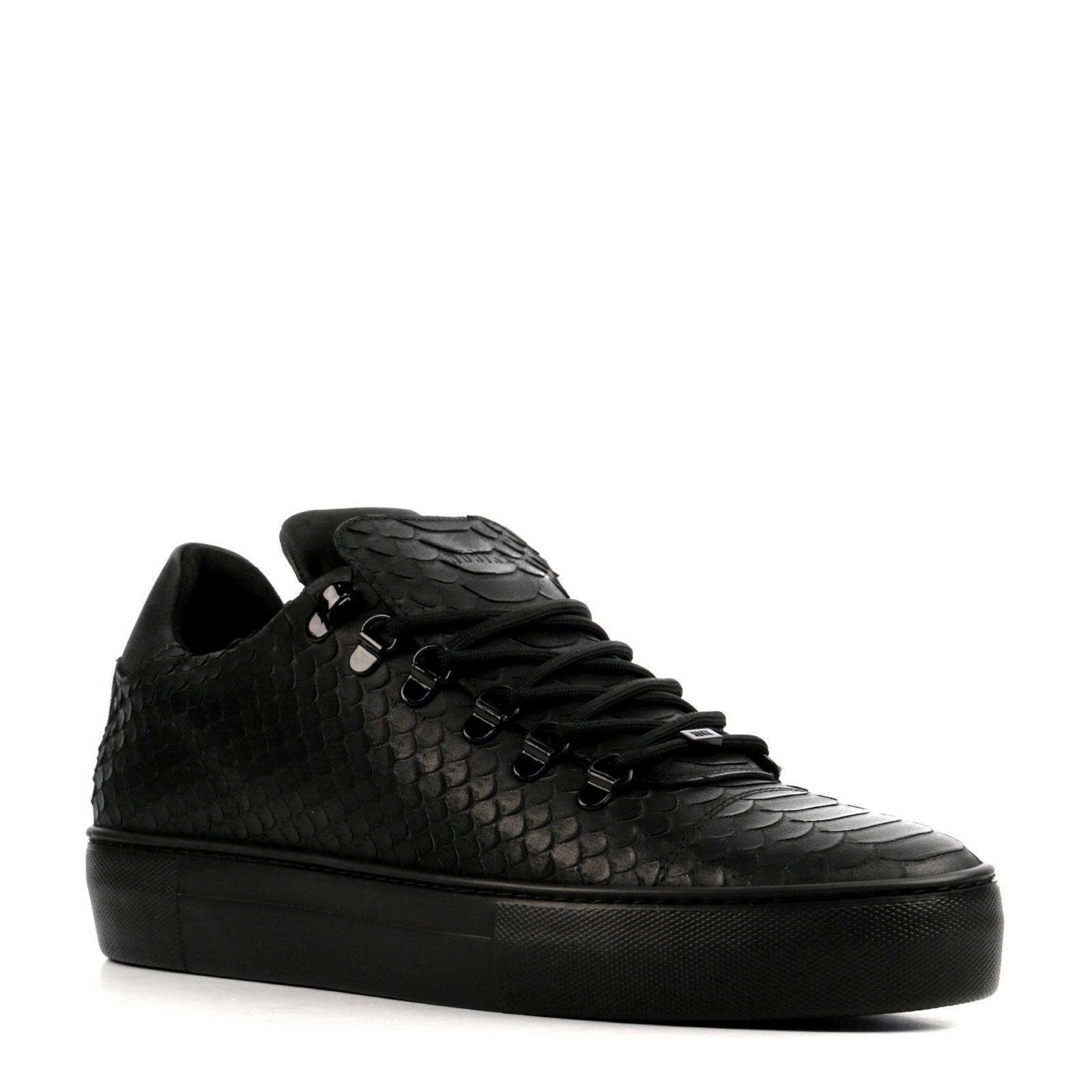 de09cd7eeed Sneakers Zwart Nubikk Leren Python Wehkamp Jagger qHAp1nwt6