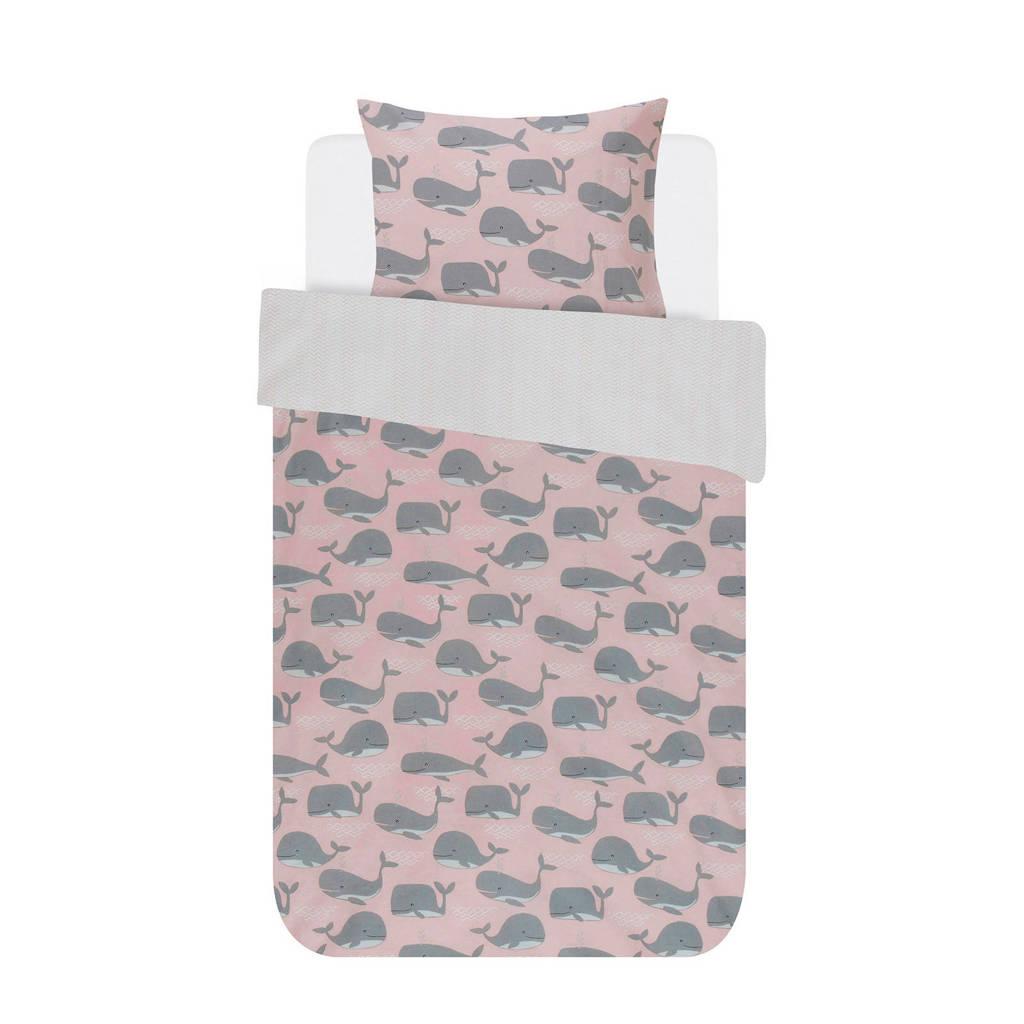 Covers & Co katoenen dekbedovertrek 1 persoons, 1 persoons (140 cm breed)