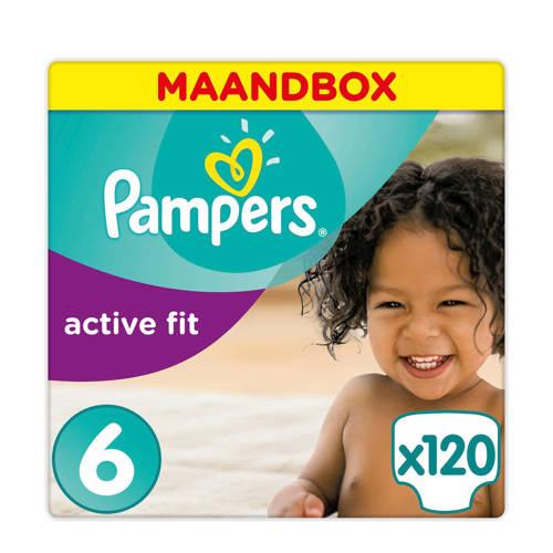 Pampers Active Fit maandbox maat 6 (15+ kg) 120 luiers kopen