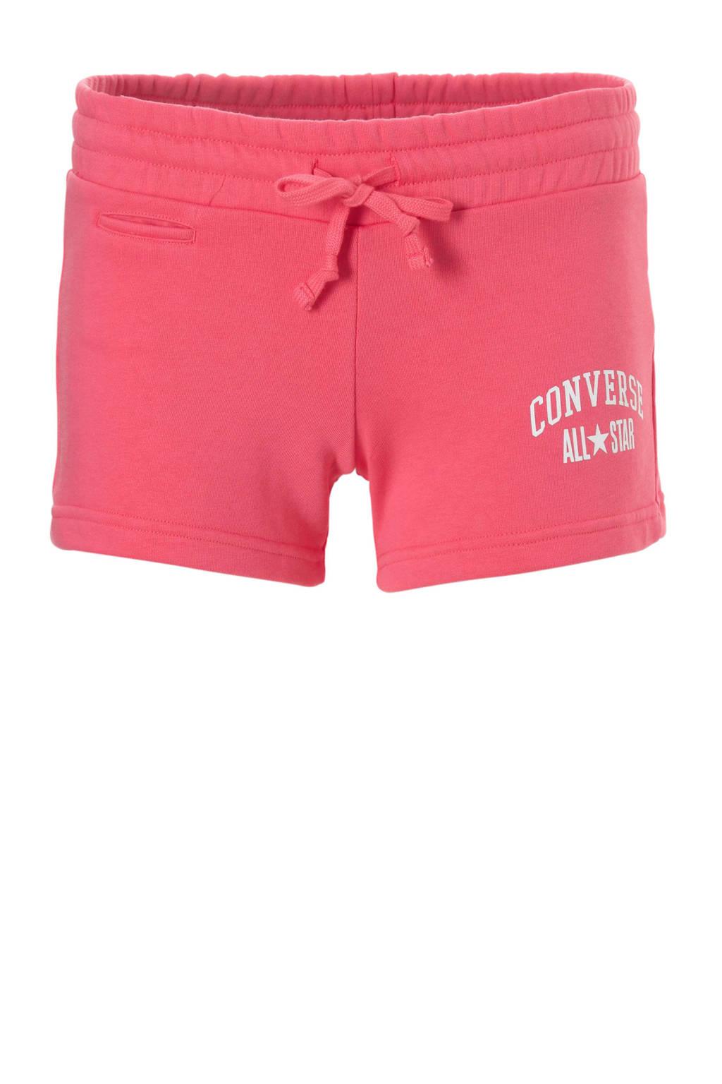 Converse sweatshort roze, Roze