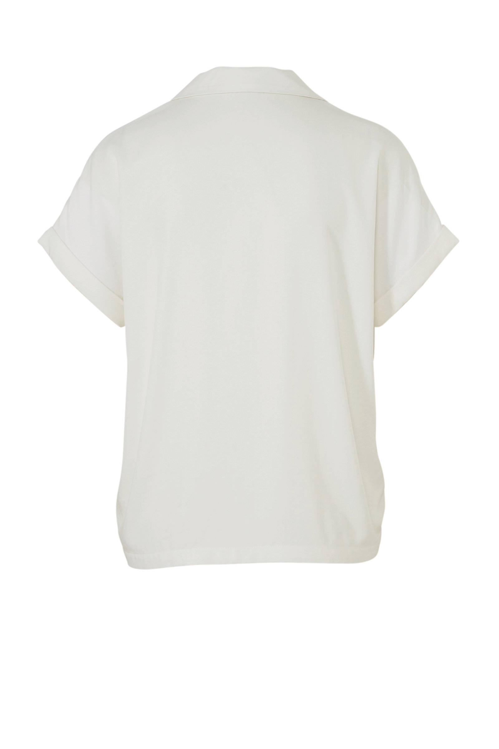 DE JACQUELINE ecru YONG blouse DE JACQUELINE 7zE4wxz
