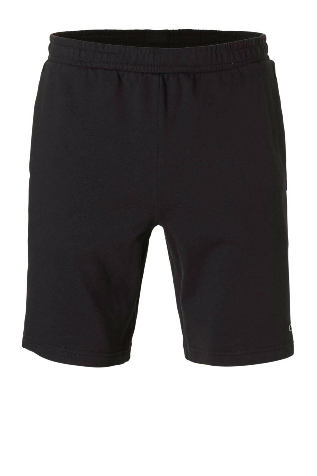 Calvin Klein   sportshort met printopdruk zwart, Zwart