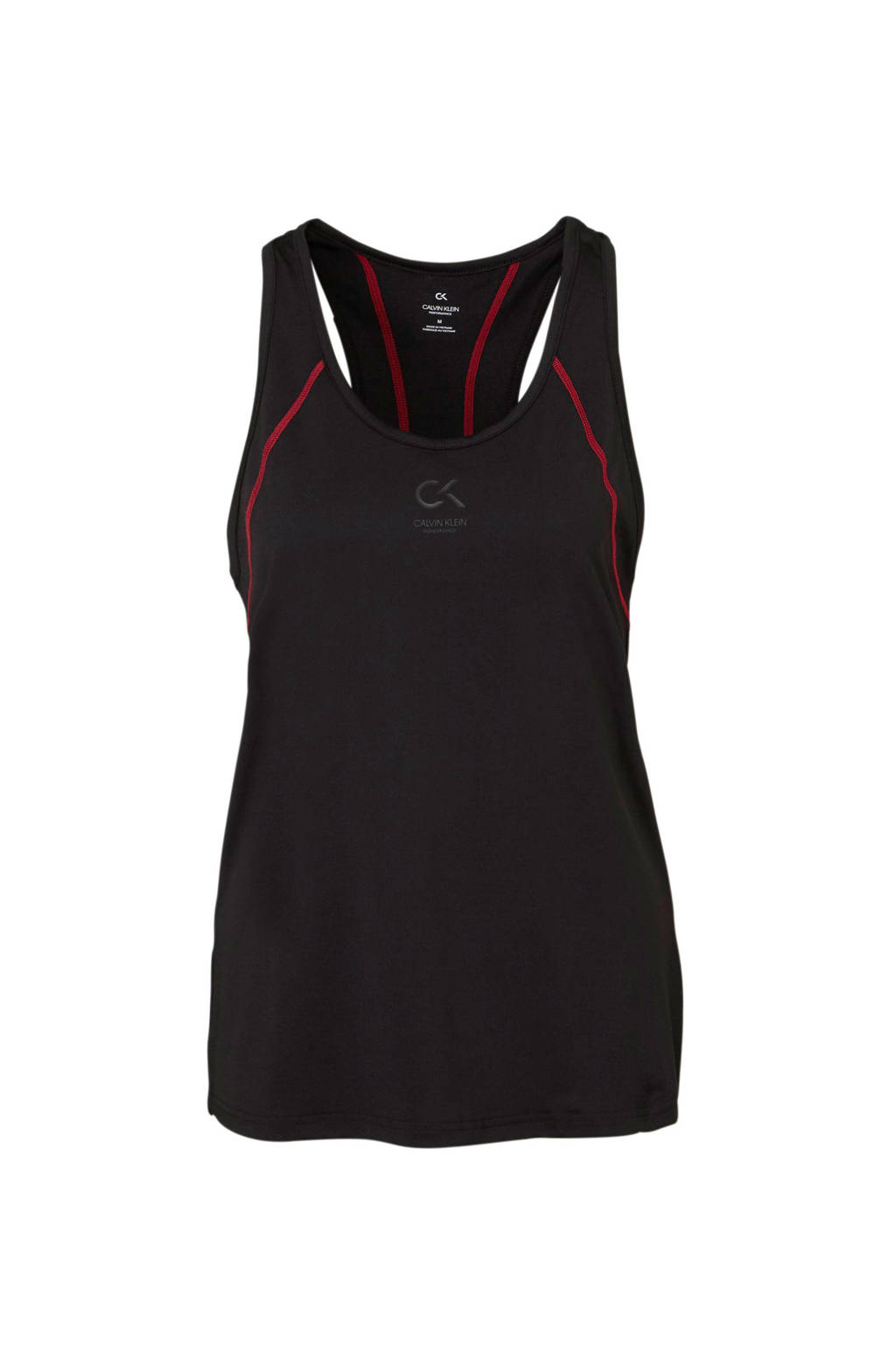 Calvin Klein sporttop zwart, Zwart