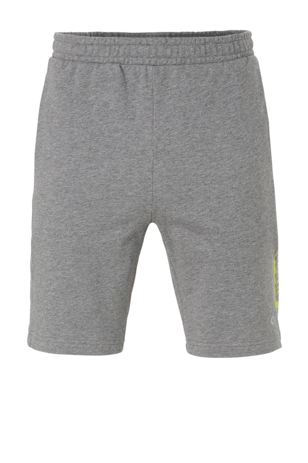 Calvin Klein   sportshort met printopdruk grijs, Grijs
