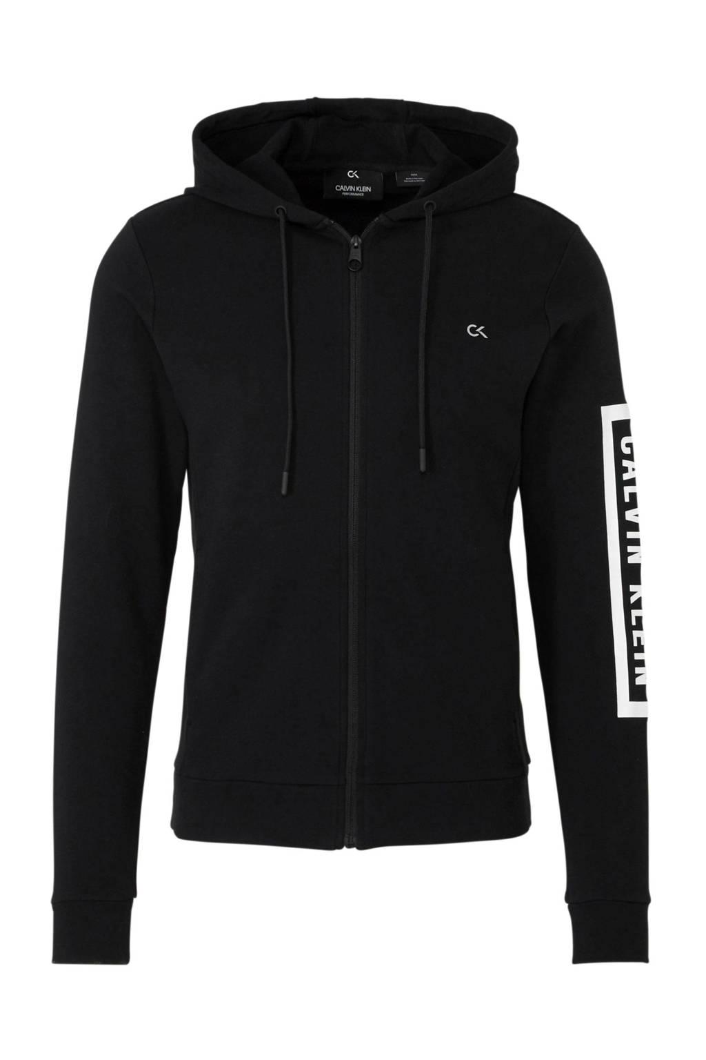Calvin Klein   sportvest zwart, Zwart