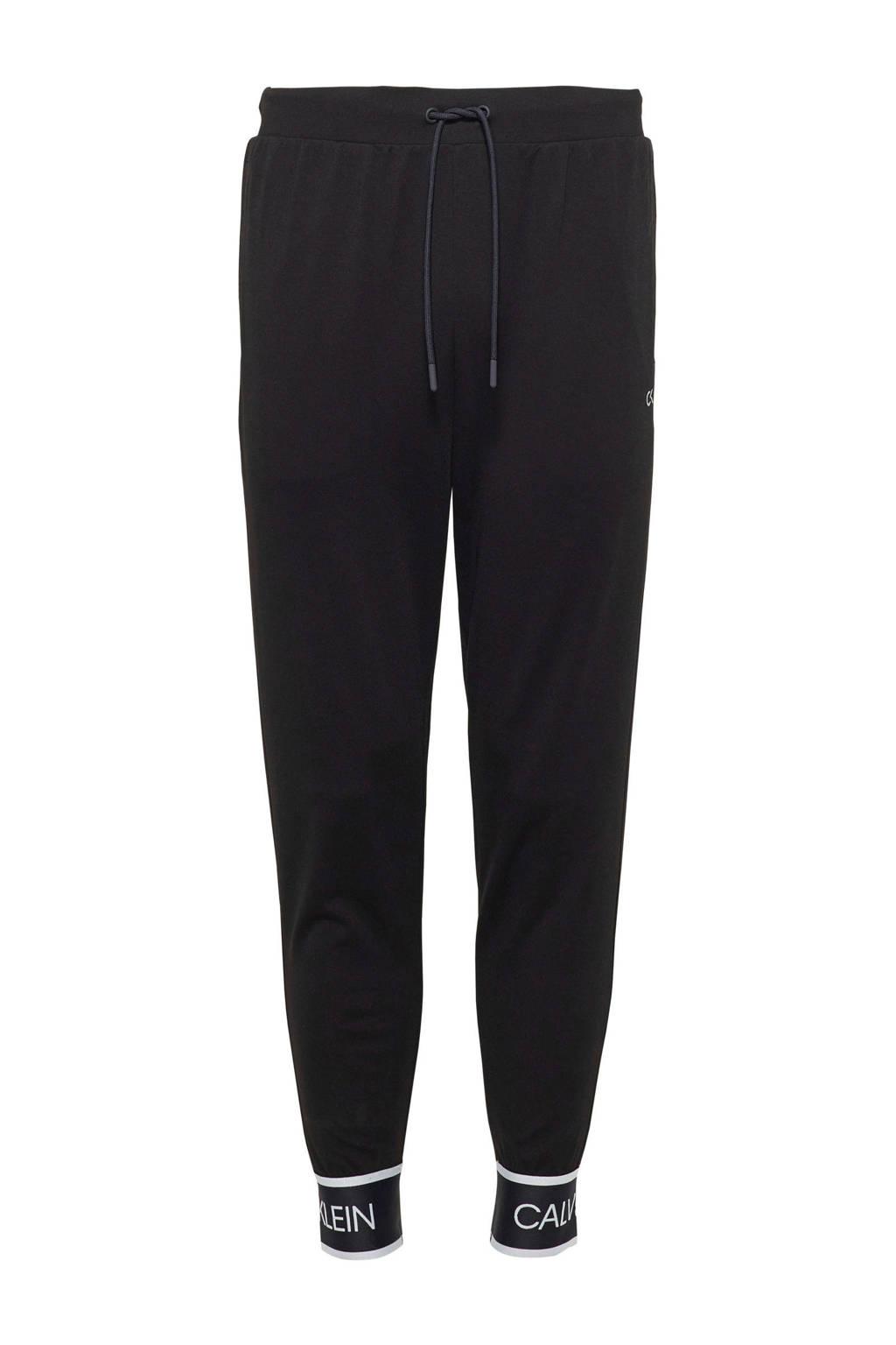 Calvin Klein   sportbroek zwart, Zwart