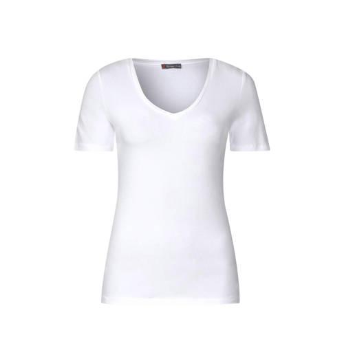 Street One T-shirt met V-hals kopen