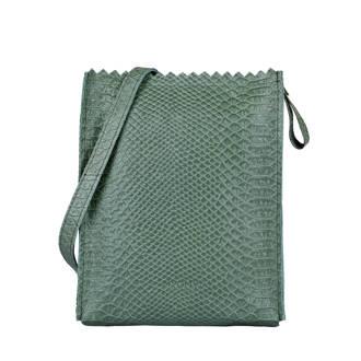 My Paper Bag Baggy cross-body leren tas