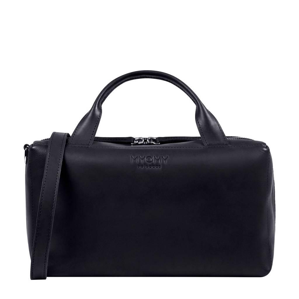 MYOMY  MY BOXY BAG - Workbag handtas, Bruin