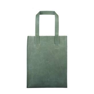 MY PAPER BAG long handle zip leren shopper