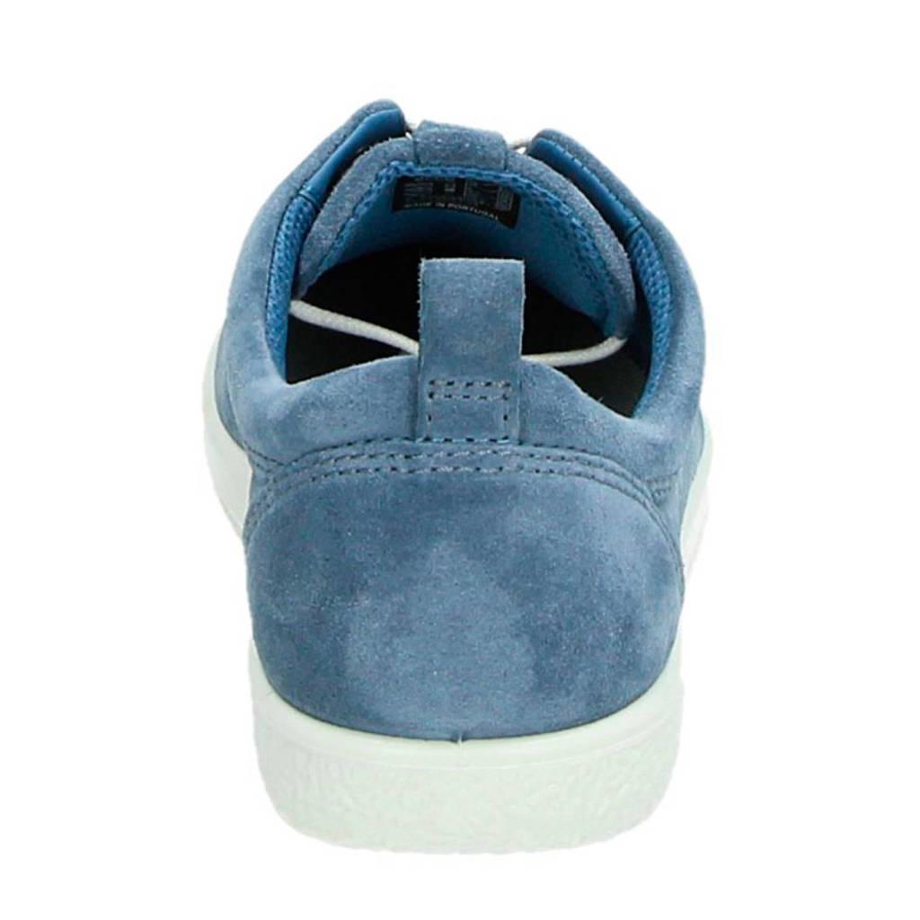 Sneakers Soft Ecco 1 Blauw Suède SYAvnF6wqT