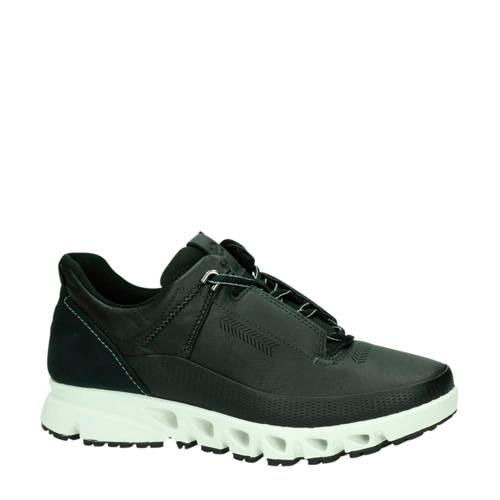 Ecco Multi-Vent leren sneakers zwart
