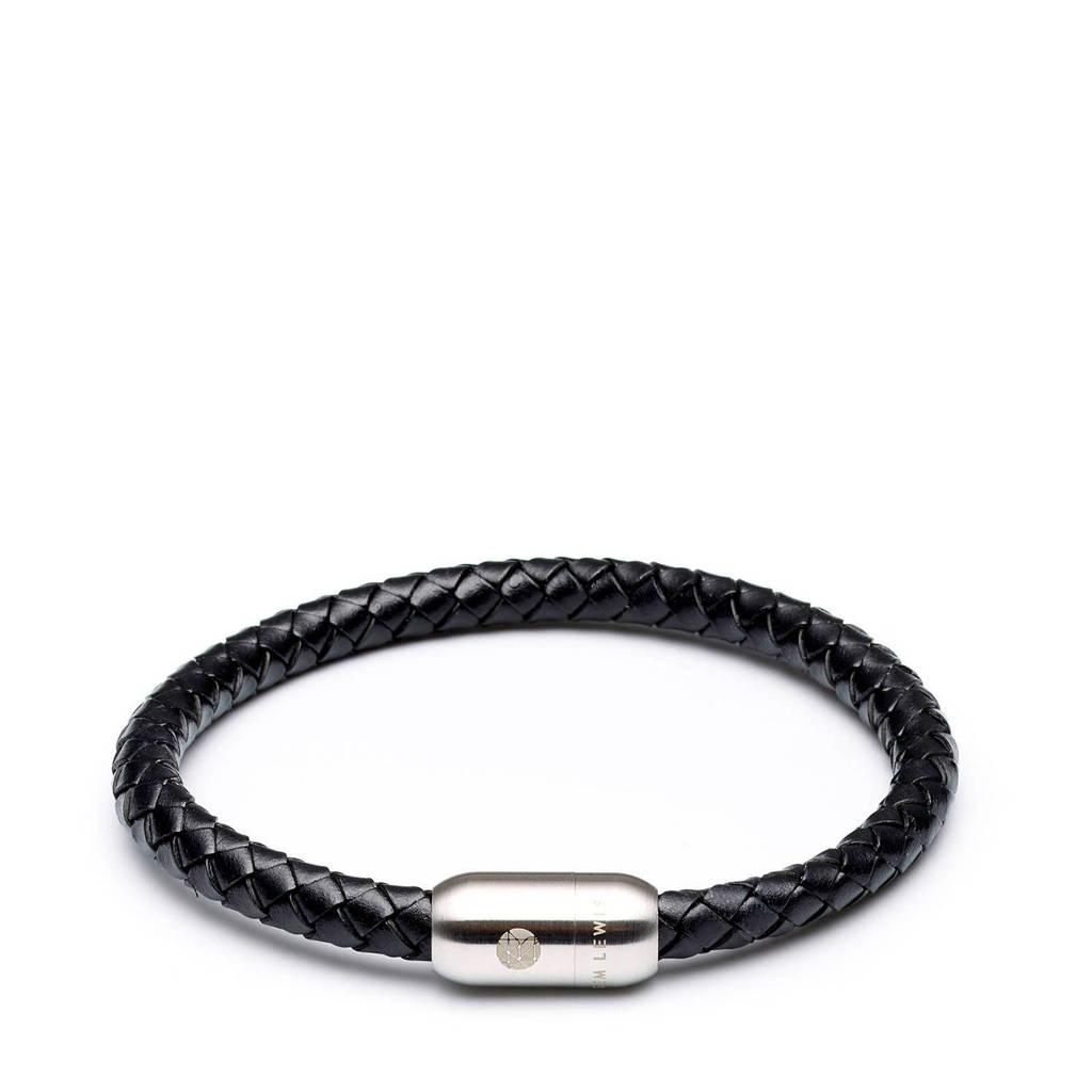 Sem Lewis Bakerloo Queen's Park armband SL210013, Zwart