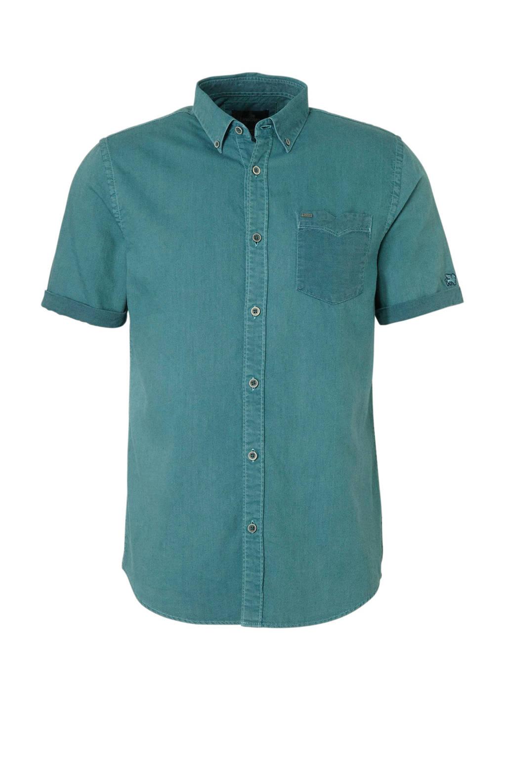 Vanguard regular fit overhemd groen, Groen
