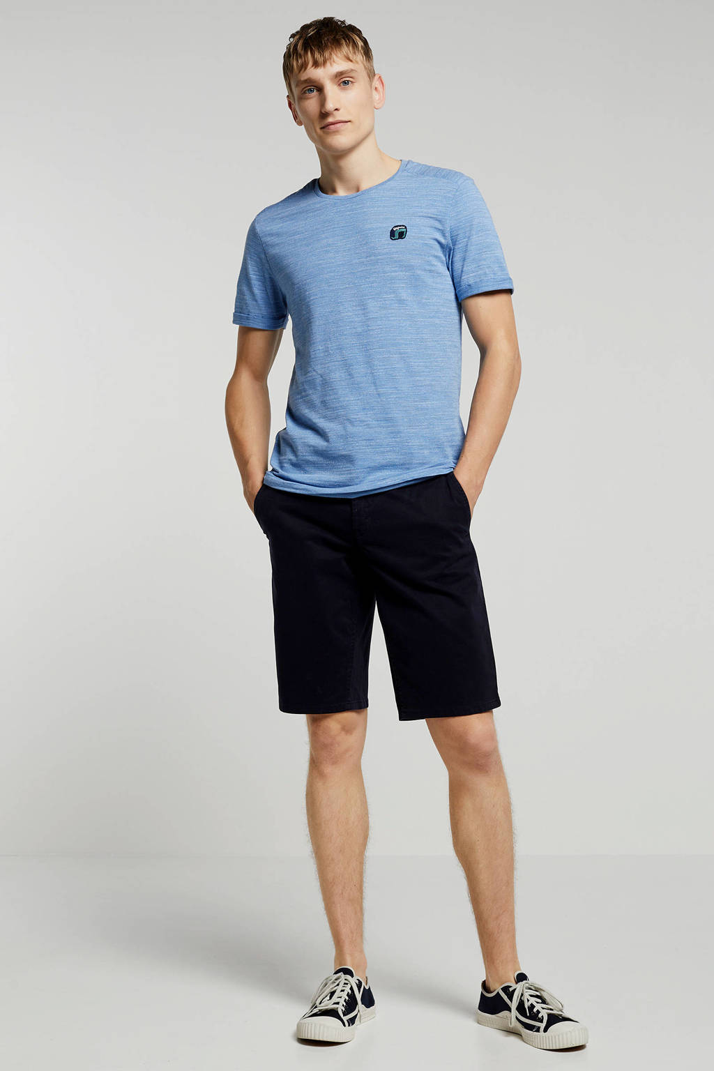 Vanguard T-shirt, Lichtblauw