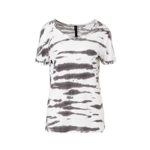 10DAYS T-shirt met all over print wit kopen