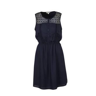 798be0b6dec51c Tom Tailor. blousejurk donkerblauw. 49.99. jurk met borduursels donkerblauw