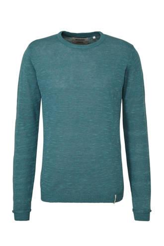 linnen trui blauw