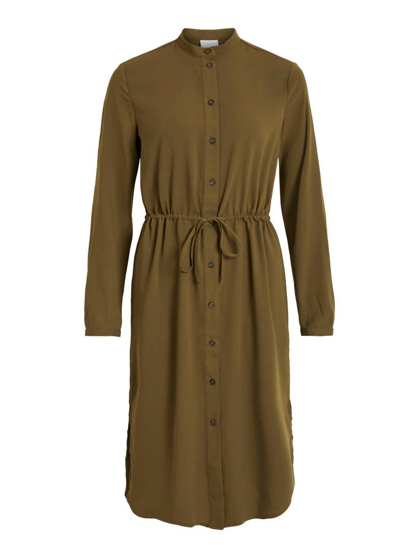 VILA jurk olijfgroen, Olijfgroen
