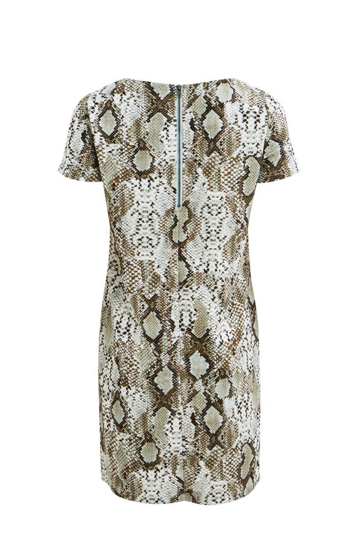 VILA jurk VILA met slangenprint met jurk slangenprint q6xqwdPr