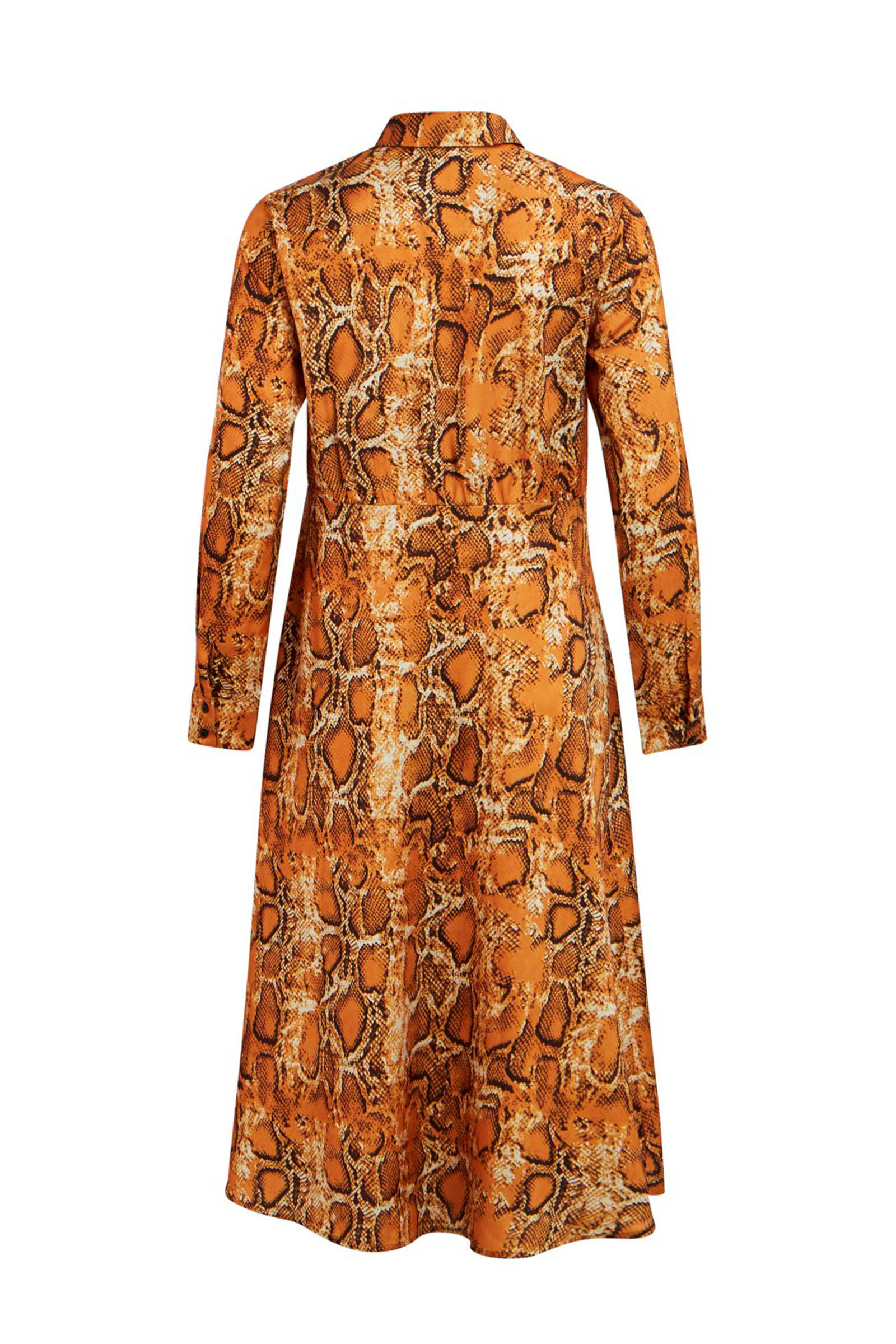 VILA blousejurk VILA blousejurk slangenprint met f57xqzZ