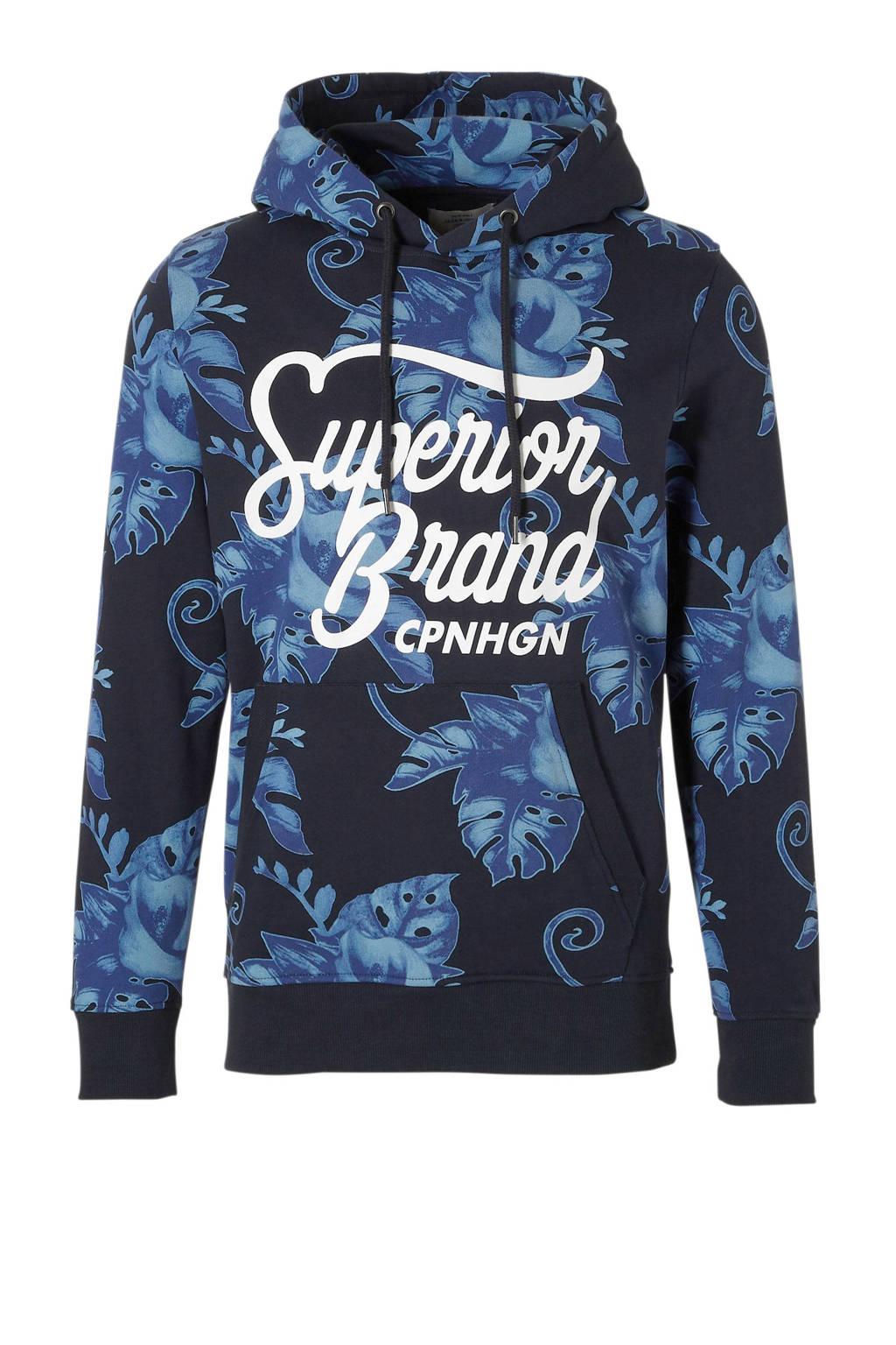 Jack & Jones Originals hoodie, Donkerblauw