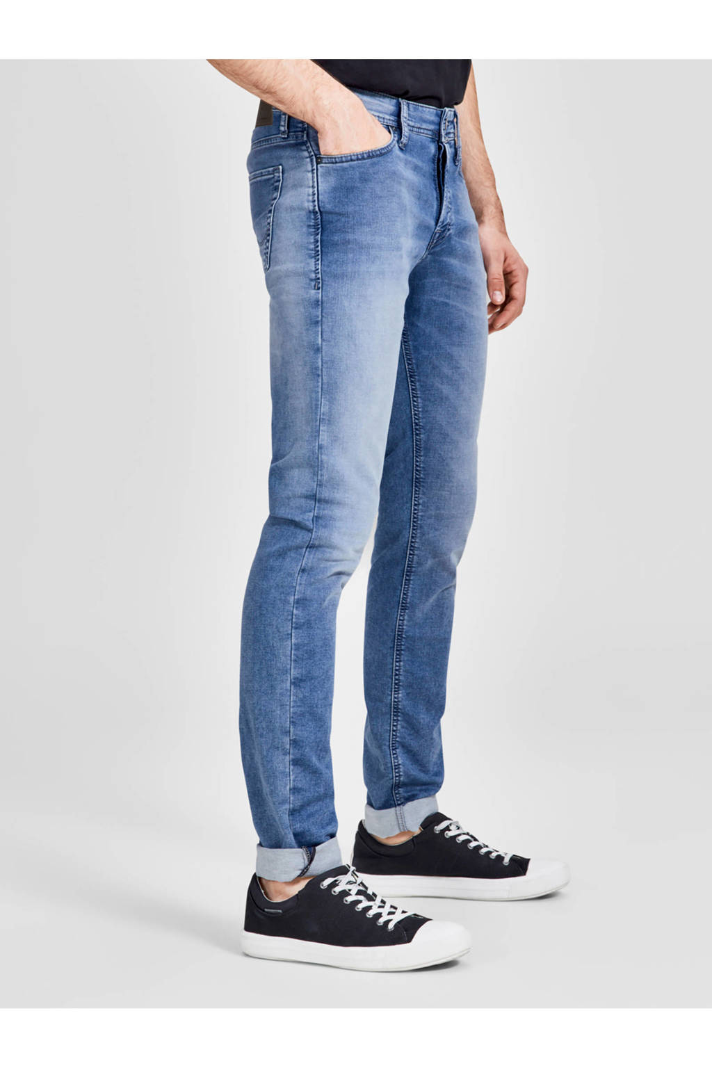 JACK & JONES JEANS INTELLIGENCE slim fit jeans Glenn, Light denim