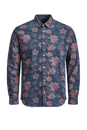 Premium regular fit overhemd met print