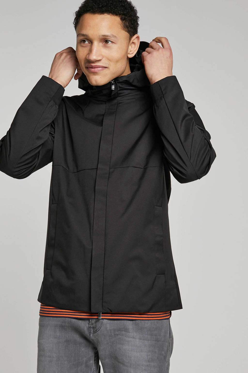 Jack & Jones Premium jas met capuchon, Zwart