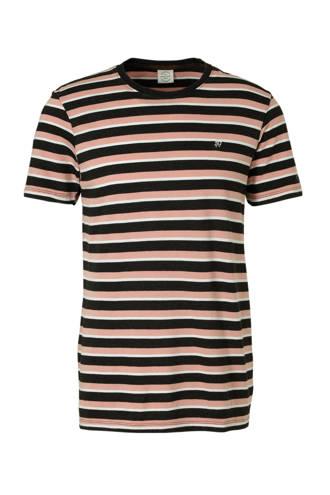Originals gestreept T-shirt Hank roze