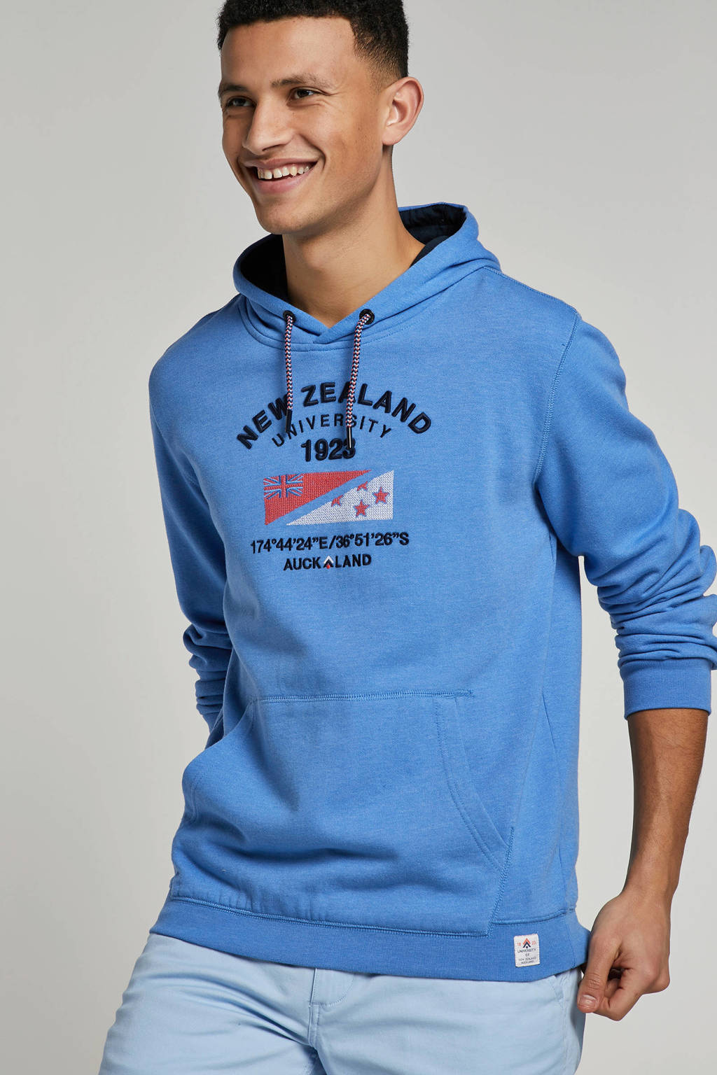 NZA sweater met printopdruk, Blauw