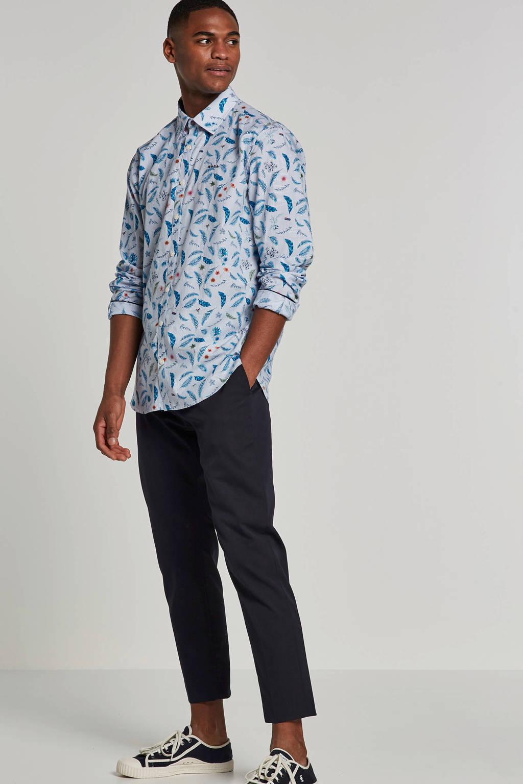 NZA overhemd Ratapiko, Blauw