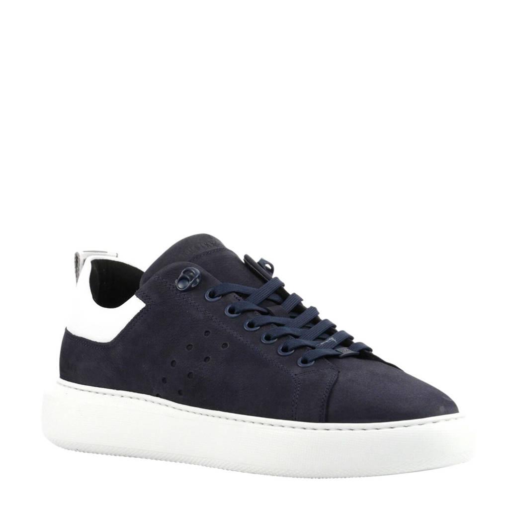 Nubikk  Scott Nubuck sneakers donkerblauw, Donkerblauw