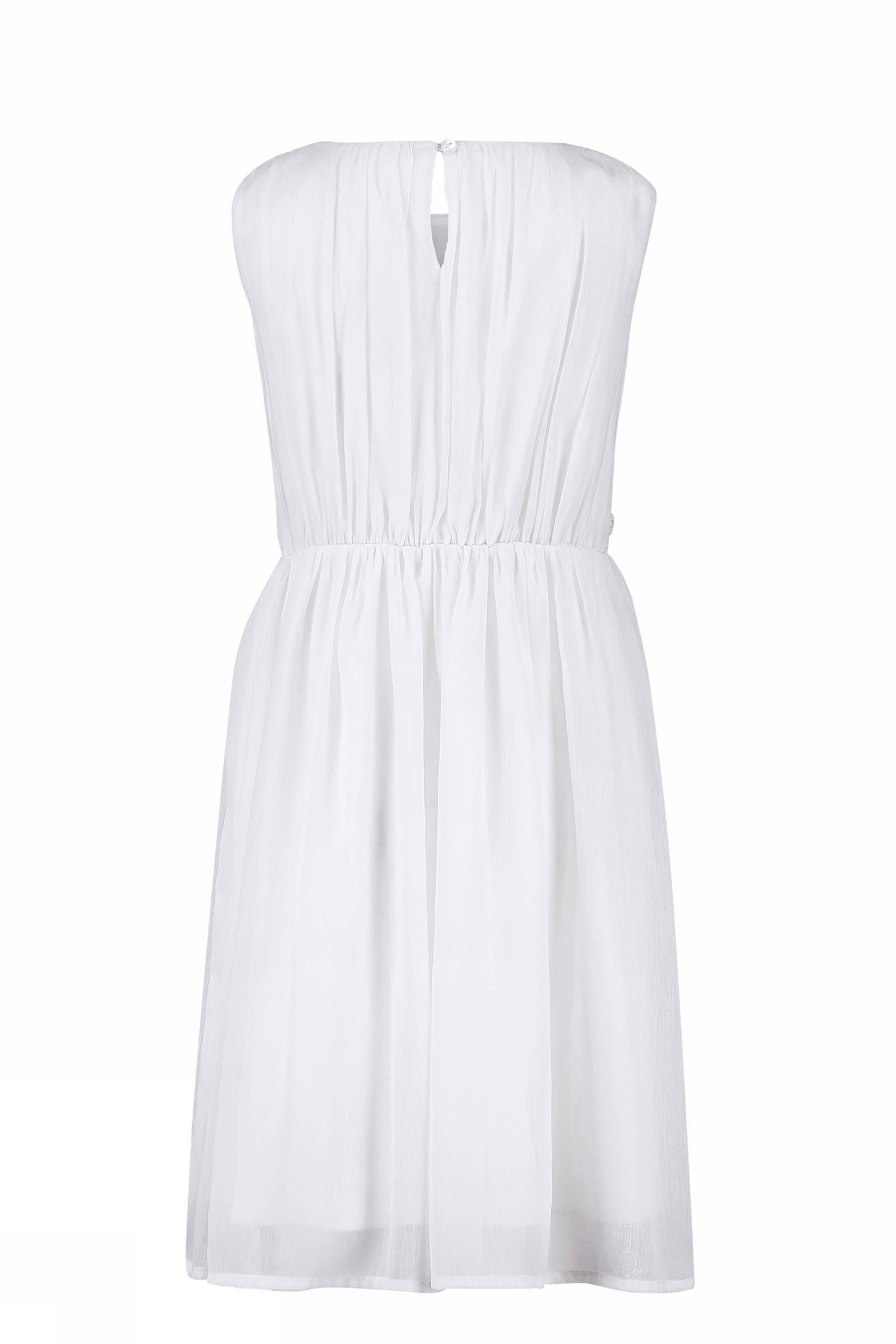 f304ae56de9146 CKS KIDS jurk Nitara met pailletten wit