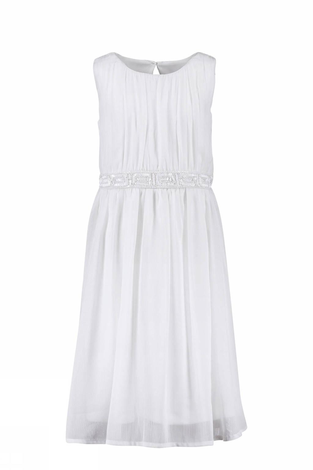 5c65b8730139cf CKS KIDS jurk Nitara met pailletten wit