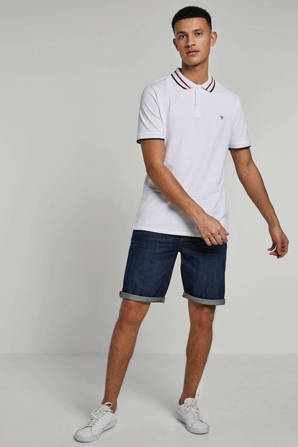 edc Men jeans bermuda, blue