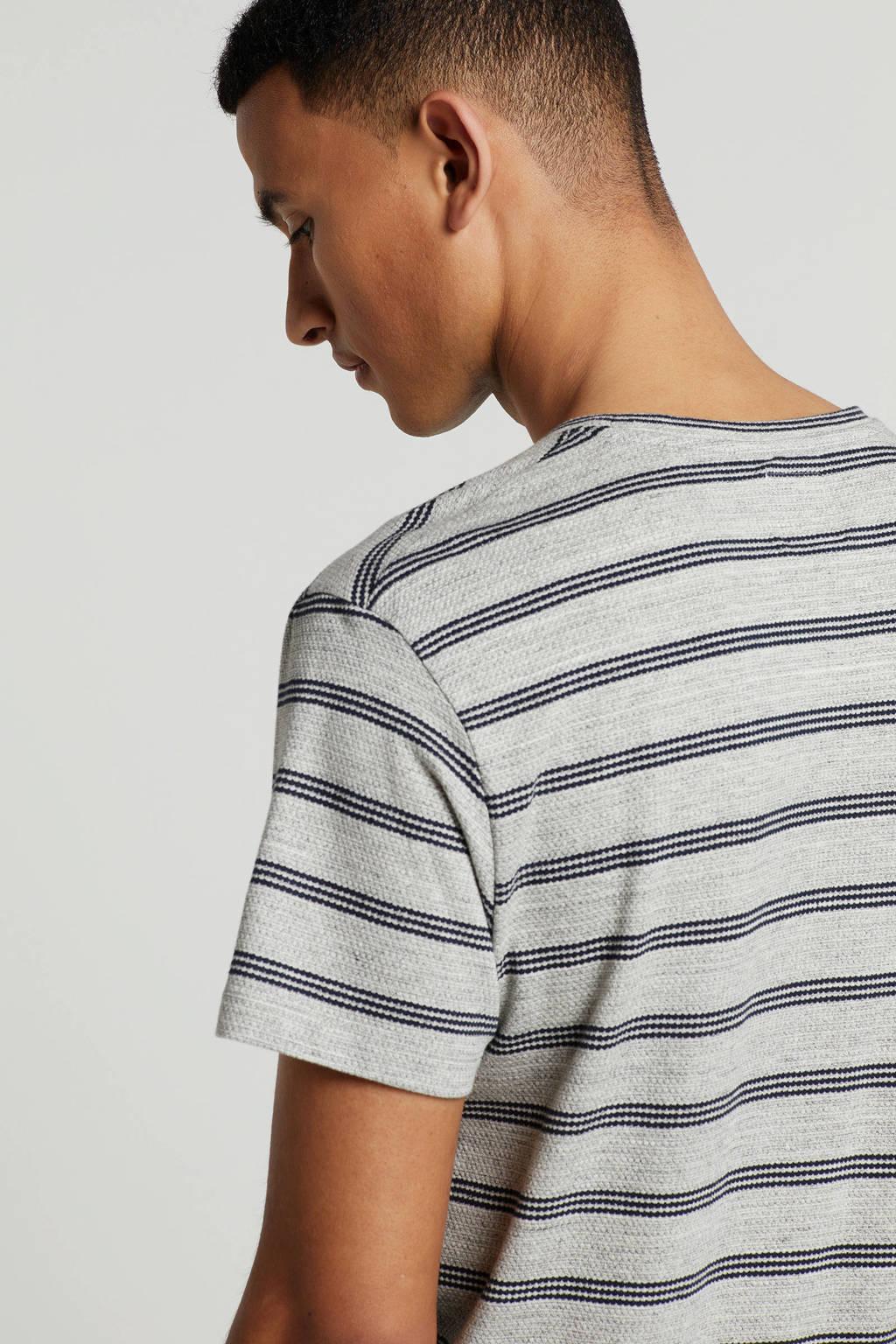 edc Men T-shirt, Grijs/blauw