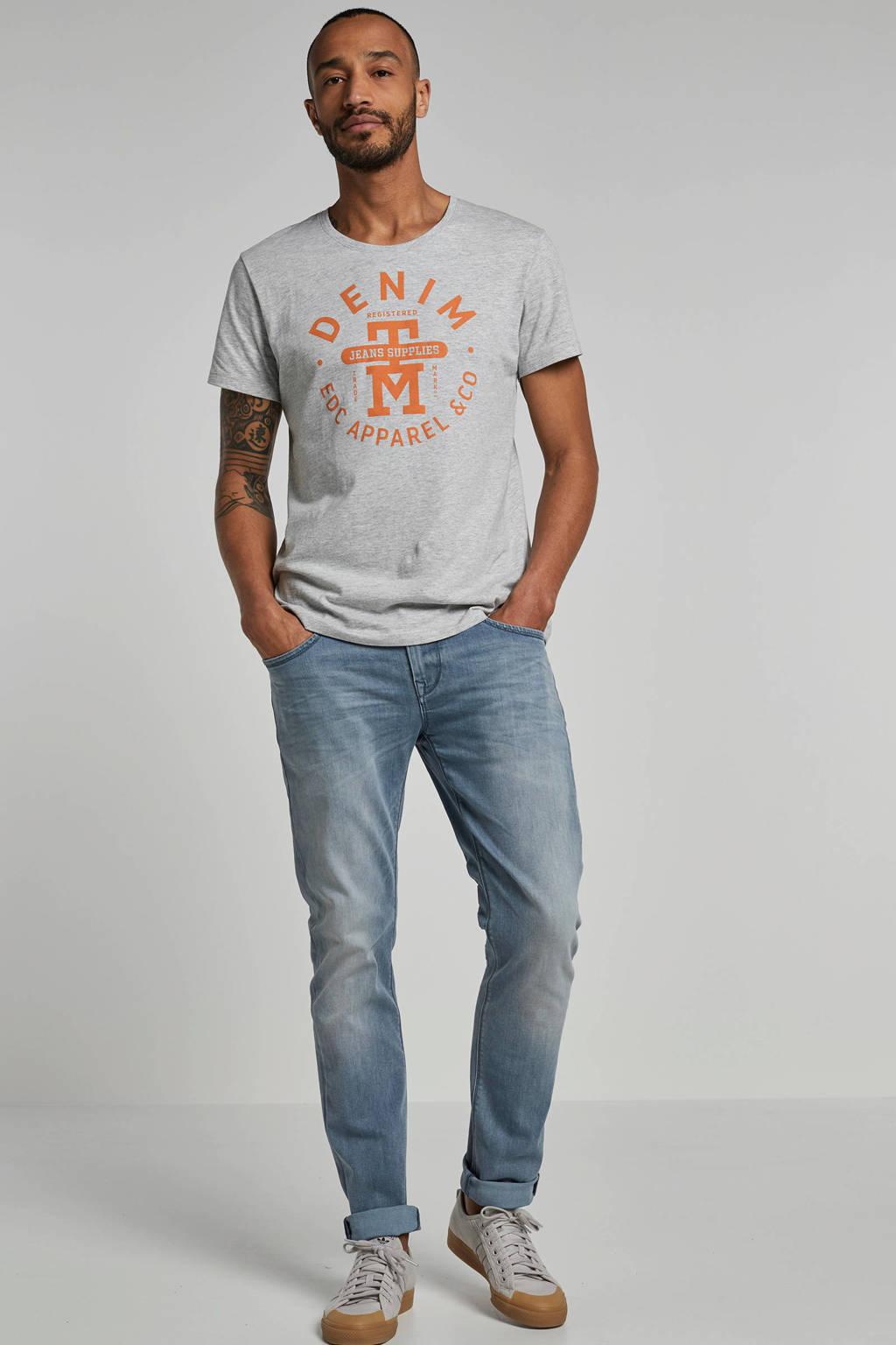 edc Men T-shirt, Grijs