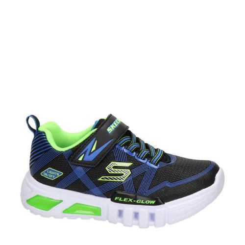 Skechers sneakers met lichtjes zwart/blauw