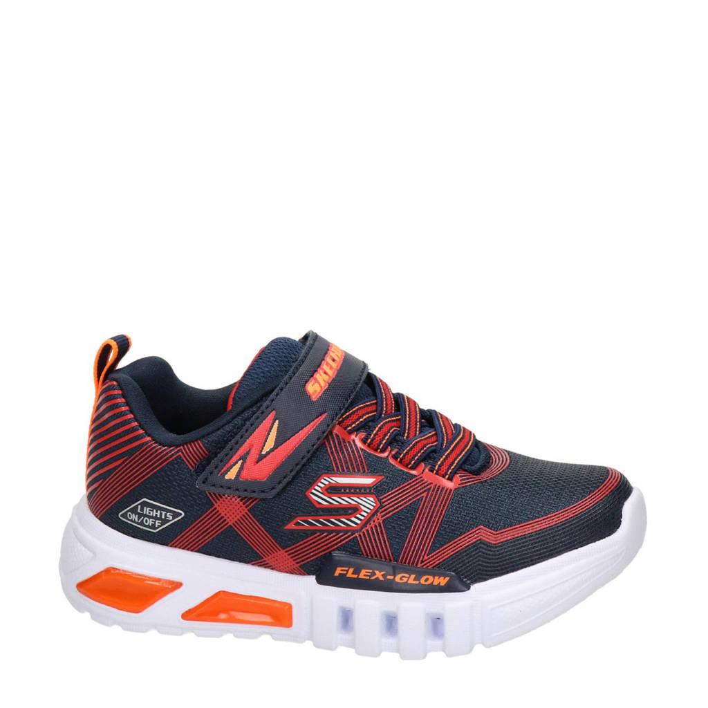 Skechers   sneakers met lichtjes rood/blauw, Rood/blauw