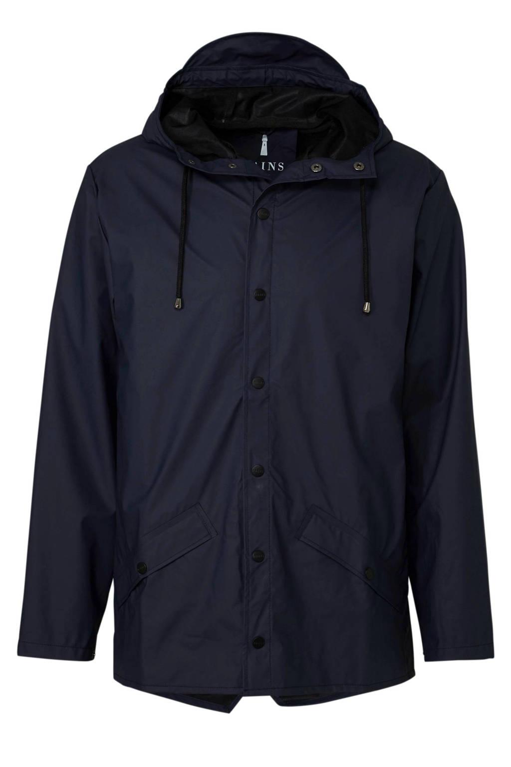 Rains regenjas jacket marine, Marine