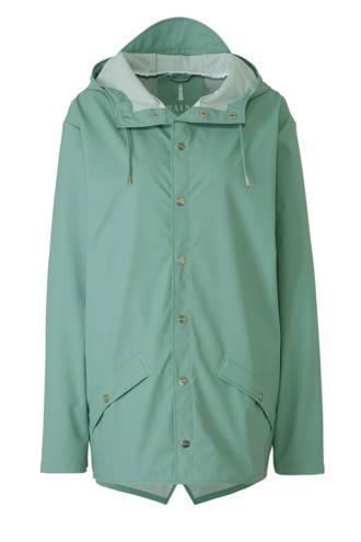 regenjas jacket mintgroen