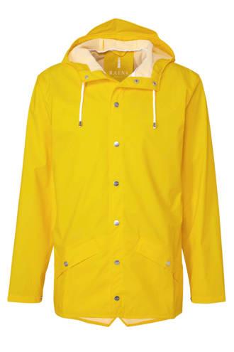 regenjas jacket geel